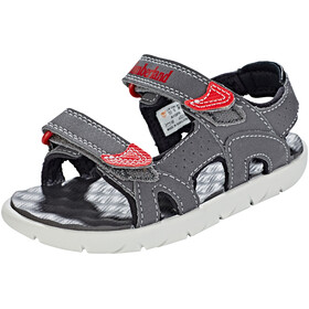 Timberland Perkins Row 2-Strap Sandals Kids forged iron